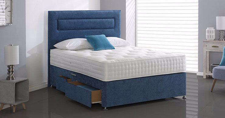Geneva Divan Bed Medium Design Your Own Bed